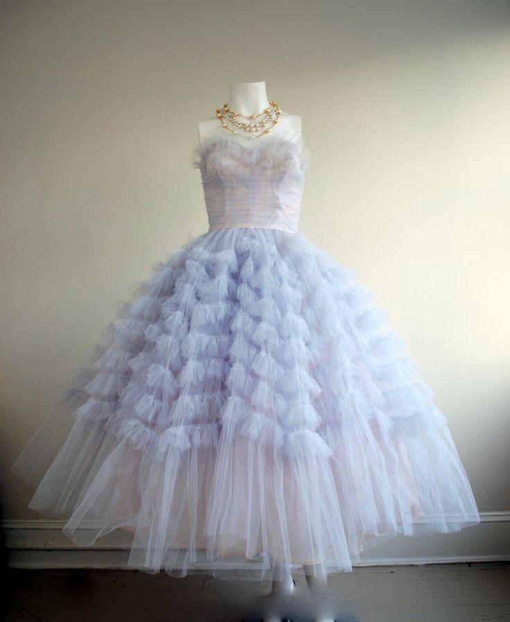 1950s Cupcake Prom Dress