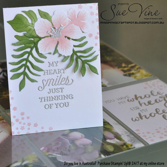 Botanical Blooms: stamped/aqua painted/sponged flowers: Blushing Bride, Mint Macaron, flower sketch, Sue Vine
