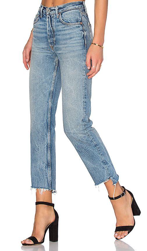 x REVOLVE Helena High-Rise Straight Jean