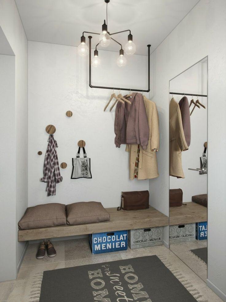 27 best entrée images on Pinterest Apartments, Banquette bench and - prix extension maison 30m2