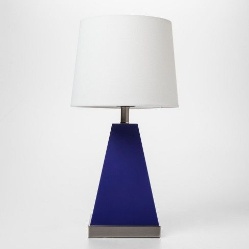 Pillowfort Triangle Light Up Table Lamp