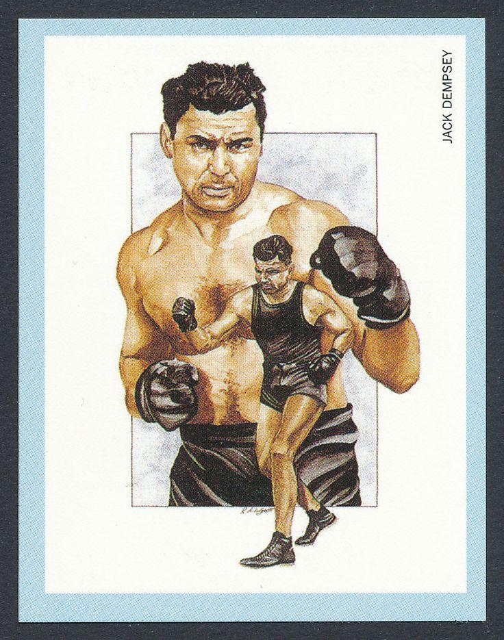 Jack Dempsey Boxing Champions 1991 card #3