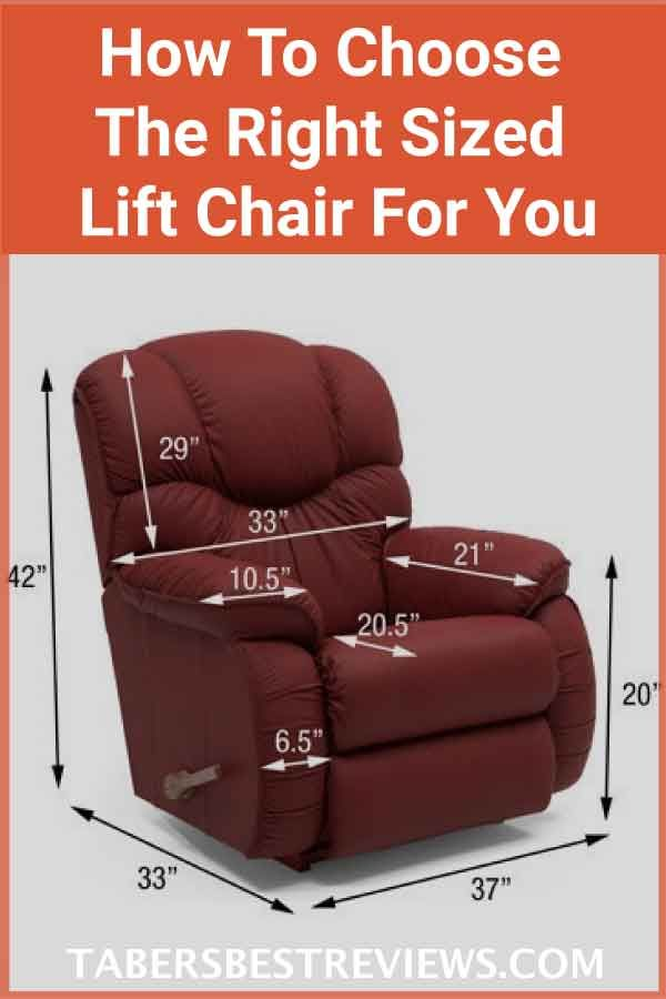 Lift Chair Sizes How To Choose The Right Sized Lift Chair For You
