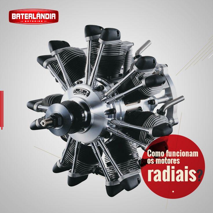 Os motores radiais tiveram seu auge durante a Segunda Guerra Mundial. No entanto, hoje eles não são mais tão comuns. Onde ainda se nota a influência do motor radial é no motor de dois cilindros das motocicletas Harley-Davidson. De certo modo, este motor pode ser concebido como um motor radial de dois pistões.