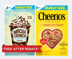 NIcer Value: $3.75 off Two General Mills Cereal (Ibotta Rebate!) (Family Size As low as $1.44 a Box)