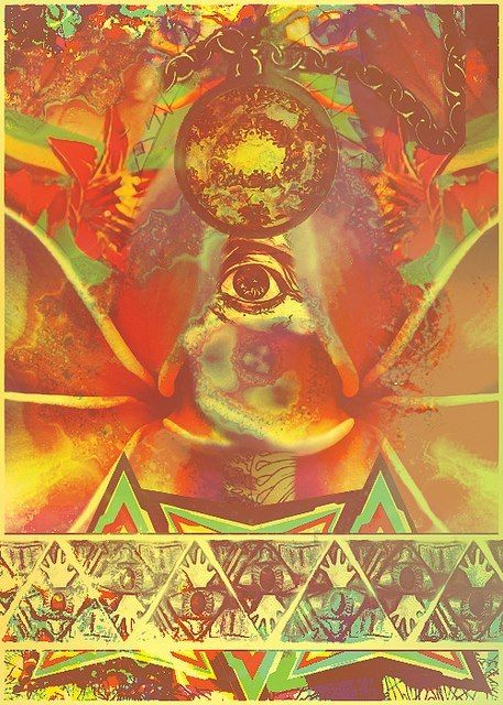 third eye ... psychedelic art