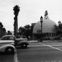 Lost urban LA photos by Ansel Adams.