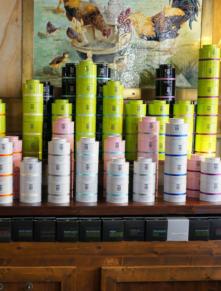 teas at THEODOR store in Paris