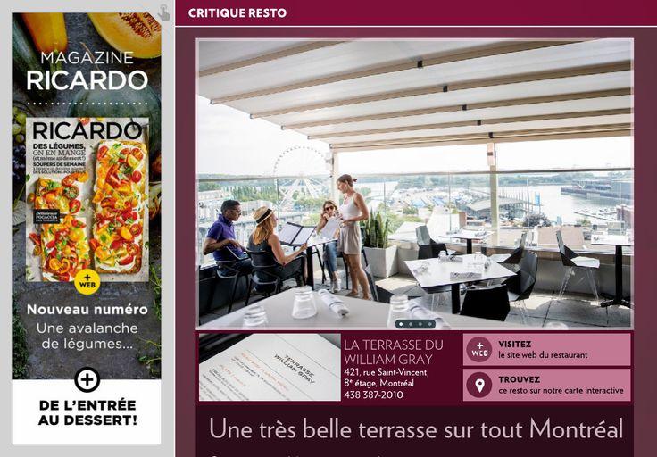 Une très belle terrasse sur tout Montréal - La Presse+