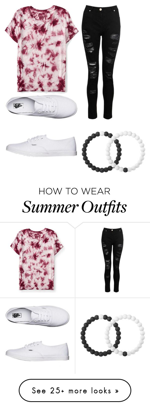 """""""Summer outfit"""" by sargisrachel on Polyvore featuring Aéropostale, Dorothy Perkins, Vans and Lokai"""