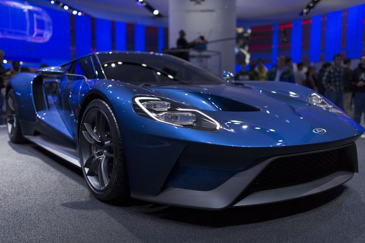 2017 Ford GT at North American International Auto Show