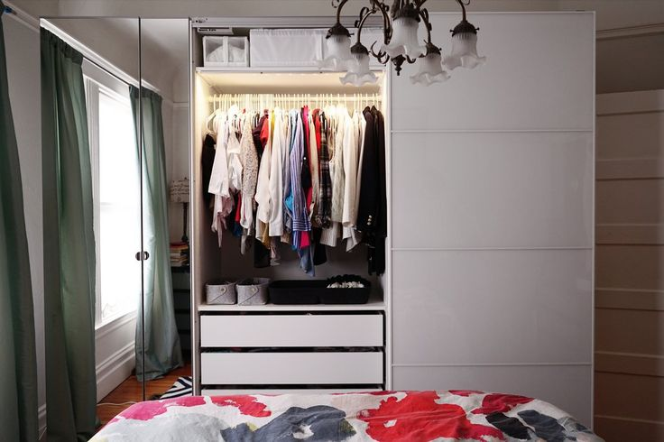 Customize a Luxurious Wardrobe Solution - IKEA Pax wardrobe