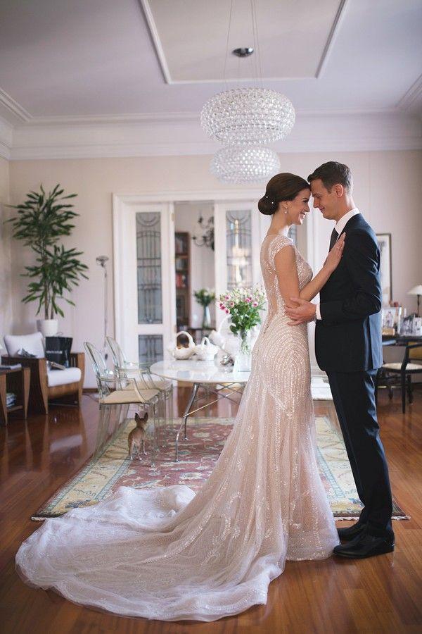 Croatia Wedding Pronovias Sequin Dress From One Day