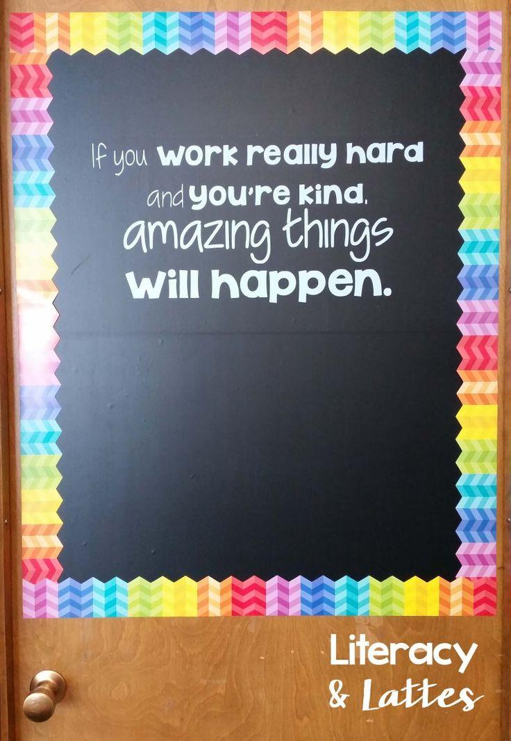 Best 25+ Classroom door ideas on Pinterest   Teacher ...