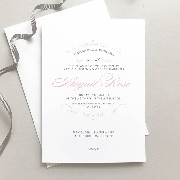 Are you interested in our christening invitations
