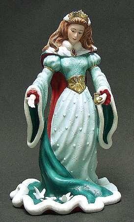 Lenox China Christmas Princess Figurine