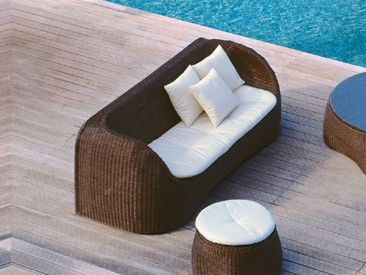 COCONUT Садовый диван by Roberti Rattan дизайн Giorgio Del Piero