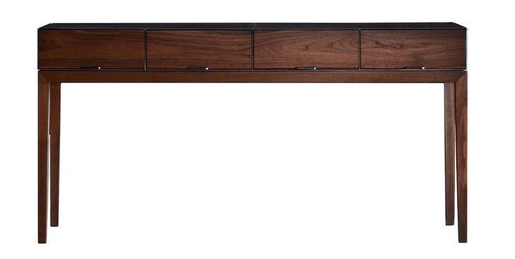 Buy Taper Series Console Table by Modern Industry - Made-to-Order designer Furniture from Dering Hall's collection of Rustic / Folk Industrial Mid-Century / Modern Transitional Console Tables.