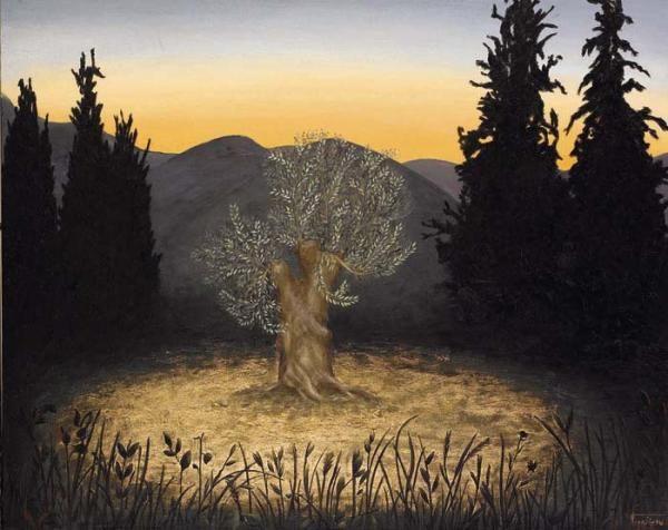 BARBARA GERODIMOU * Greece * www.gerodimou.com ** The Adoration Of The Olive Tree ~ Beijing Art Biennale