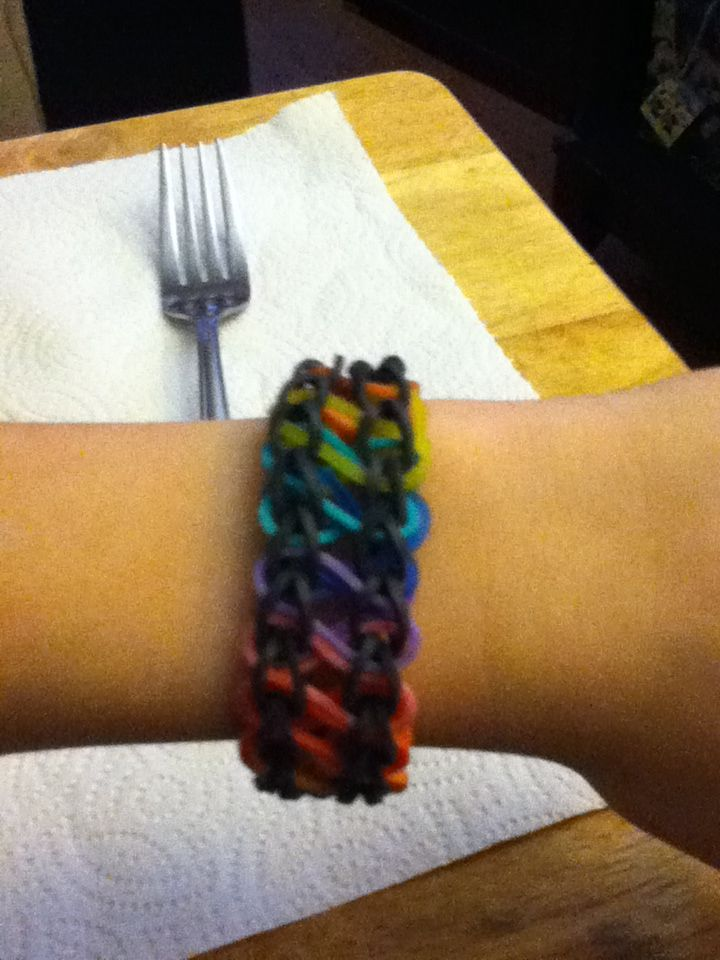 168 Best Images About Rainbow Loom On Pinterest Rubber