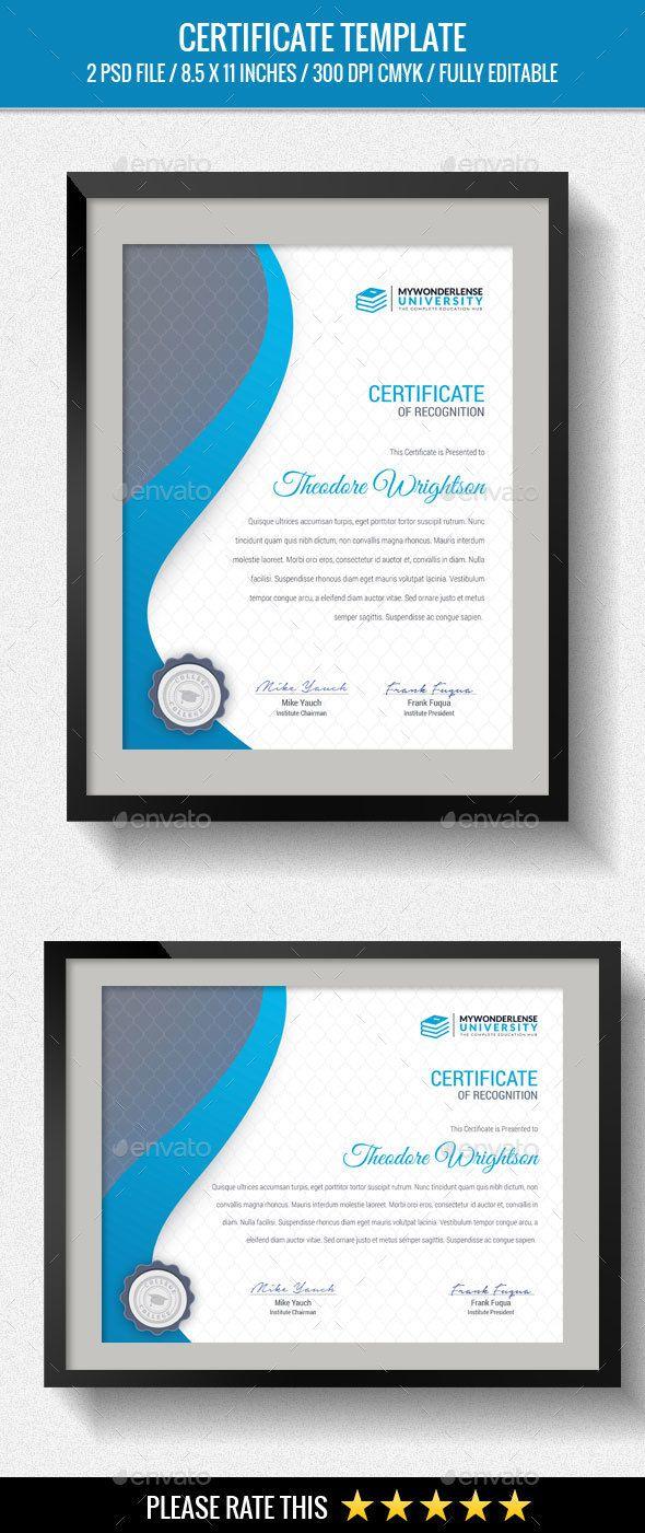 816 best certificate templates images on pinterest script fonts multipurpose certificates xflitez Image collections