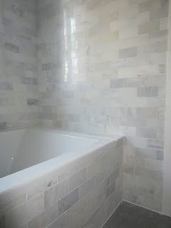 Awesome Grecian White Marble Subway Tiles From Home Depot