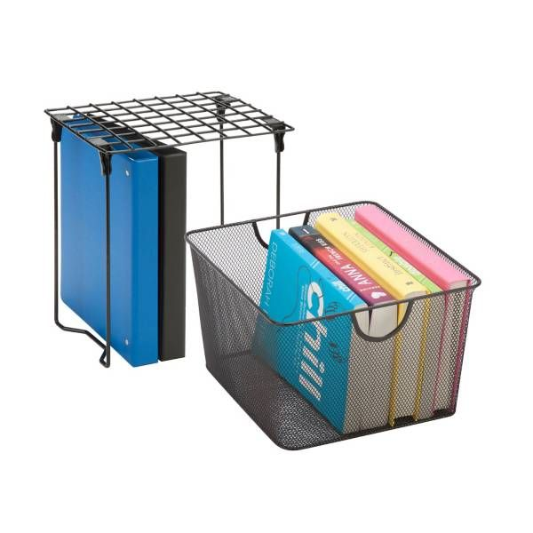 Product Image for Honey-Can-Do® 2-Piece Back-to-School Locker Storage and Organizer Kit 2 out of 2
