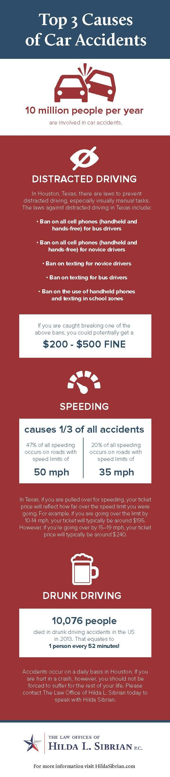 3 Main Causes of Car Accidents in