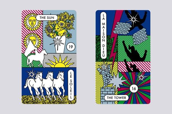 Michael Willis tarot cards for Kenzo