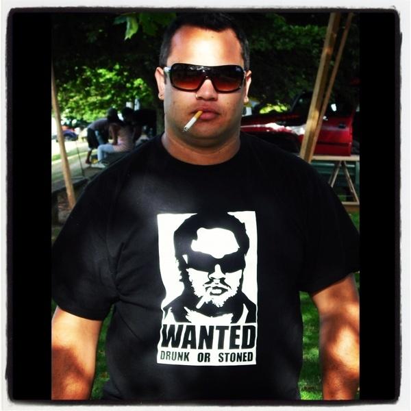 Custom tshirt for his Stag do.