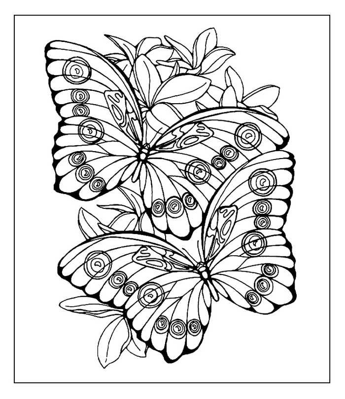 Cool Butterfly Coloring Pages Ideas For Girls And Boys Butterfly Coloring Page Animal Coloring Pages Cool Coloring Pages