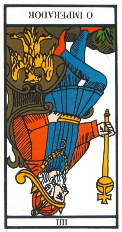 Carta Tarot para 23-03-2015  Hoje o dia é para ser vivido com descontracção e com alguma tranquilidade. Apesar das energias não serem muito favoráveis quanto mais insistirmos em remar contra a maré mais desgaste acumulamos sem necessidade. Por isso respire fundo e não insista, quando as coisas não estiverem a colaborar consigo, pare e recomece amanhã.  A carta tarot do dia, o imperador invertido, indica algum desgaste físico ou emocional. O Imperador precisa de descanso, de tirar conclusões…