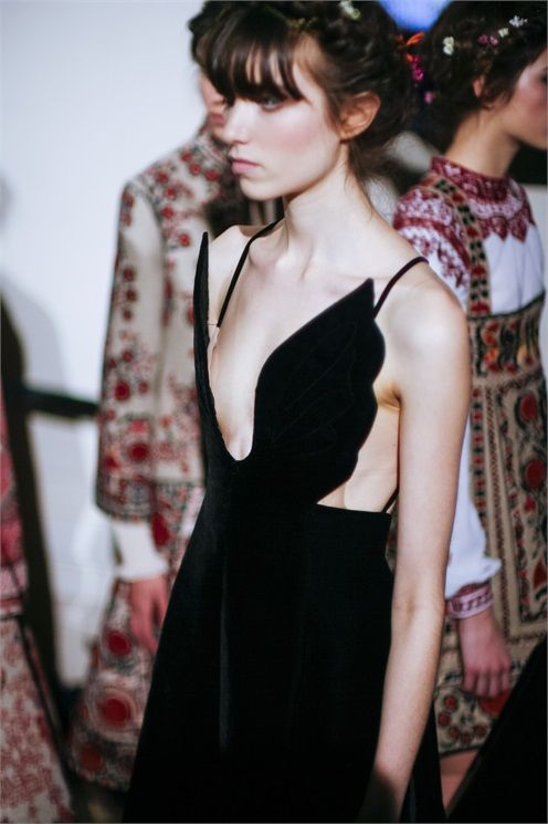 Valentino Spring 2015 Haute Couture Backstage