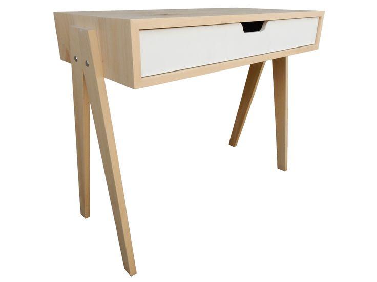 Emma Desk  Handcrafted by RAW Sunshine Coast from reclaimed hoop pine  $495.00  www.rawsunshinecoast.com.au