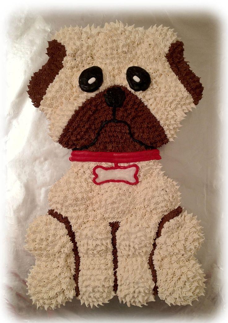 The 25+ best Pug cake ideas on Pinterest Pug birthday ...