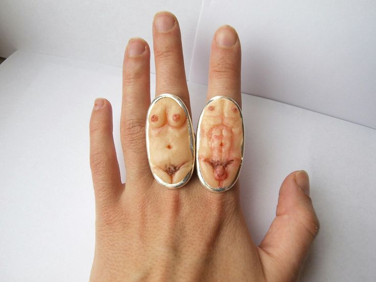 Excited to share the latest addition to my #etsy shop: Big chunky ring Erotic jewelry Mature jewelry Erotic sculpture Male torso sculpture Penis Phallus art Sexuality Fetish ring Oddity ring #jewelry #ring #silver #steampunk #brutalist #bigchunkyring http://etsy.me/2jnjSjS