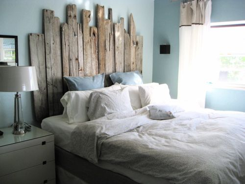 Have been collecting driftwood for a year.. Result, Headboard for my King..