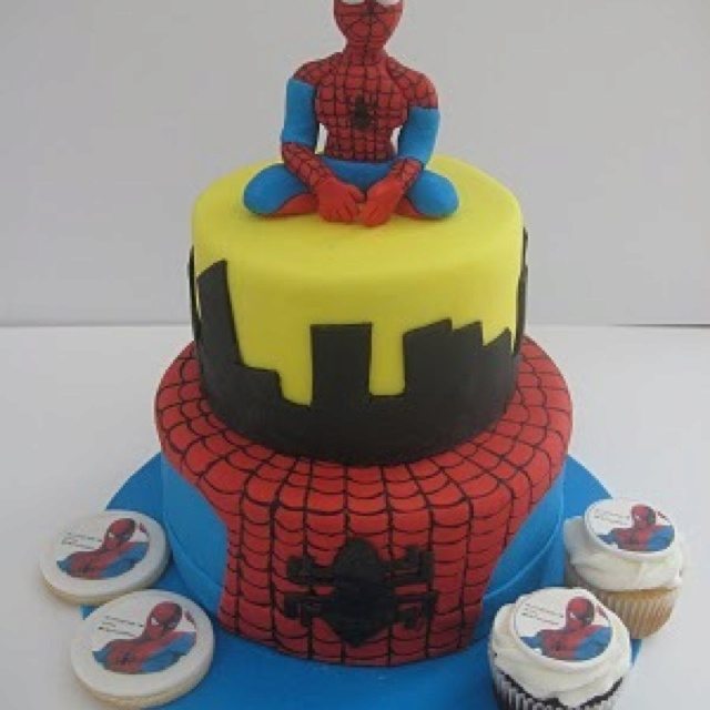 Google Images Spiderman Cake : 32 best images about Spiderman Cakes on Pinterest