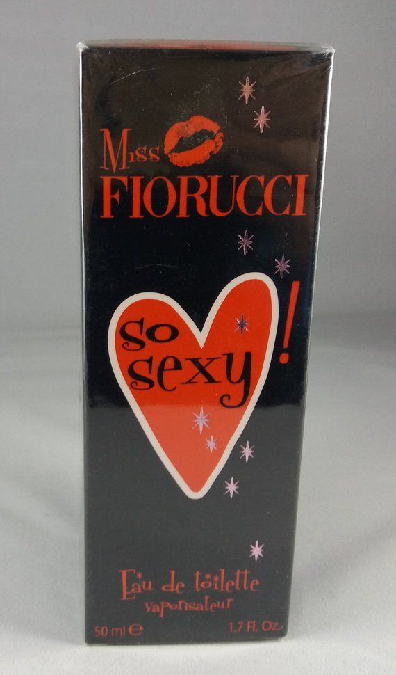 974d36957f Miss Fiorucci So Sexy Eau de Toilette 50ml 2005 VAPO Vaporisateur SPRAY  collectible bottle Woman Discuntinued sealed in Box