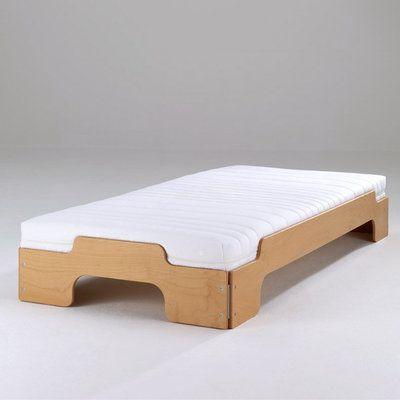 Matelas 14cm d'épaisseur pour lits empilables - matelas à ressorts 5 zones