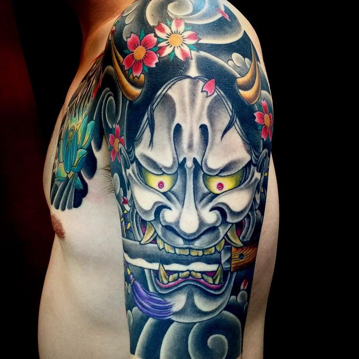 Top Free Oni Irezumi Backgrounds: Best 25+ Oni Mask Tattoo Ideas On Pinterest