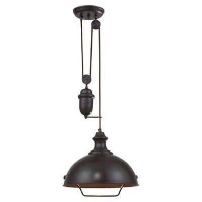 Perfect for illuminating your reading nook or kitchen island, this industrial-chic pendant features 4 milk bottle-inspired lights.