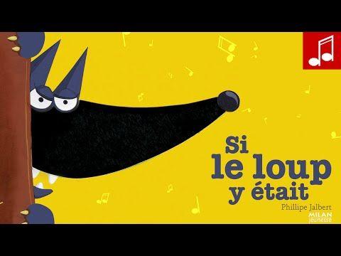 SI LE LOUP REVENAIT (il nous mangerait...) livre à toucher aux éditions MILAN - YouTube