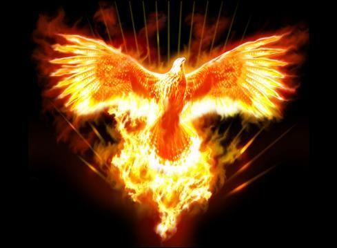 La leyenda del ave Fénix ha sido expresada por diversas mitologías.Fue el único animal del Edén capaz de resistir la tentación por lo que simboliza fuerza de voluntad y ganandose con ello la eternidad.Simboliza la inmortalidad y resurrección en todas las culturas.