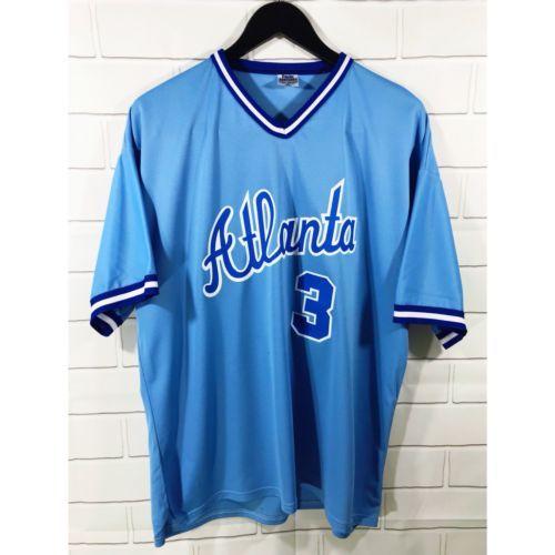 super popular 5d799 ab059 Dale Murphy Atlanta Braves Jersey Shirt Mesh Park Antony Pro ...