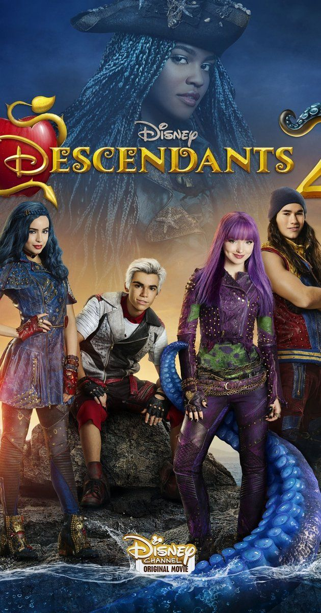 Directed by Kenny Ortega.  With Dove Cameron, Cameron Boyce, Sofia Carson, Booboo Stewart. Mal returns to the Isle of the Lost to find her archenemy Uma, the daughter of Ursula, teaming up with Harry, the son of Captain Hook, and Gil, the son of Gaston.