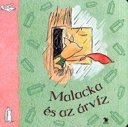 Malacka és az árvíz (lapozó), gyermek- és ifjúsági könyvek, A. A. Milne nyomán, könyvrendelés, olcsó könyvek, könyvesbolt