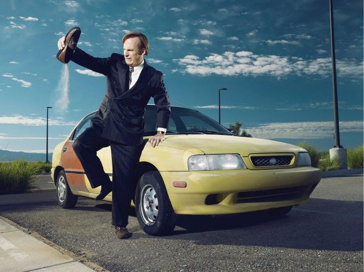 "[""'Better Call Saul,' The Prequel To 'Breaking Bad,' Is As Good As The First"" ""On Better Call Saul, Bob Odenkirk plays Jimmy McGill, a fast-talking, struggling public defender who decides to remake himself as Saul Goodman, a lawyer specializing in representing unabashed criminals.""]"