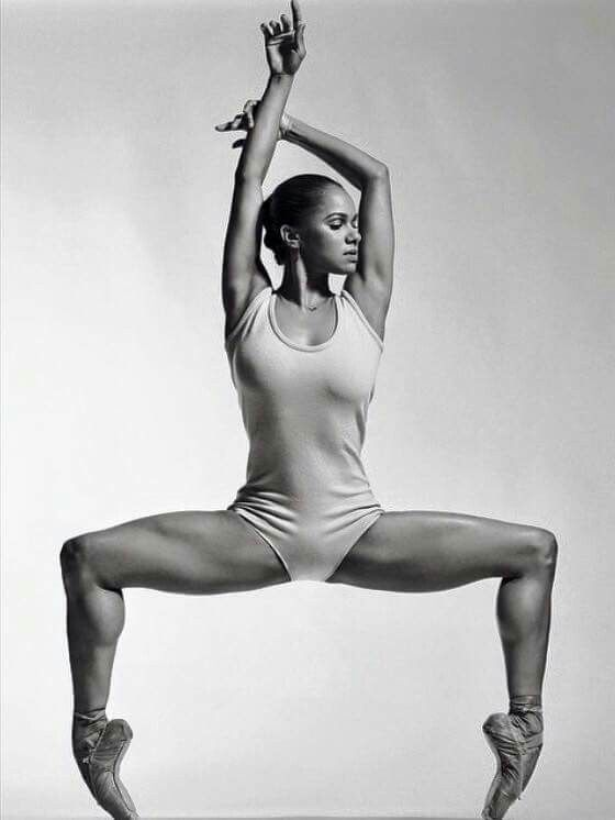 Misty Copeland - First African American soloist in 20 years with the American Ballet Theater, only the third ever in history. Her story is so inspiring, plus she's an amazing badass ballerina!