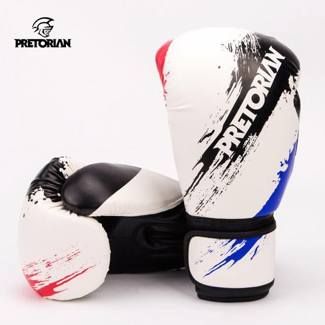 Boxing Gloves Twins Muay Thai MMA 10-12 oz PU For Training Sparring